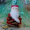BRICOLAGE: Babbo Natale da 1 pigna