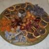 BRICOLAGE: composizione di fiori e frutta secca