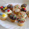 RICETTE: cupcakes mignon all'arancio e cioccolato