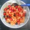 RICETTE: macedonia melone e frutti di bosco