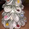 Albero di Natale con cotone