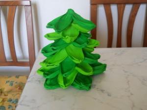 albero in carta crespa 1