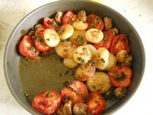 verdure miste piccanti