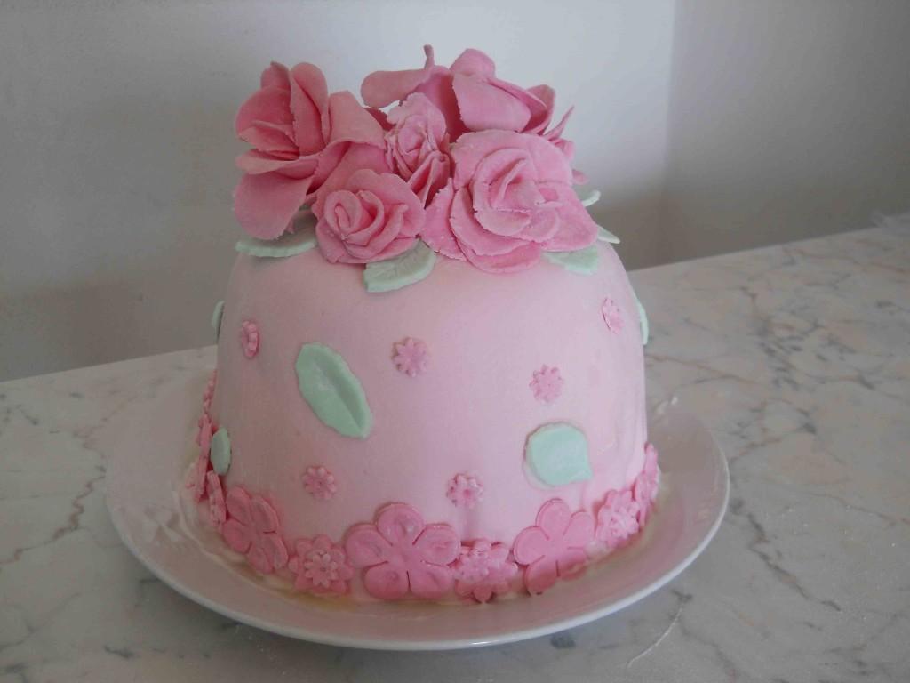Ricette Segrete Cake Design : cake con rose e fiori bricolage & ricette