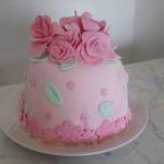 cake con rose