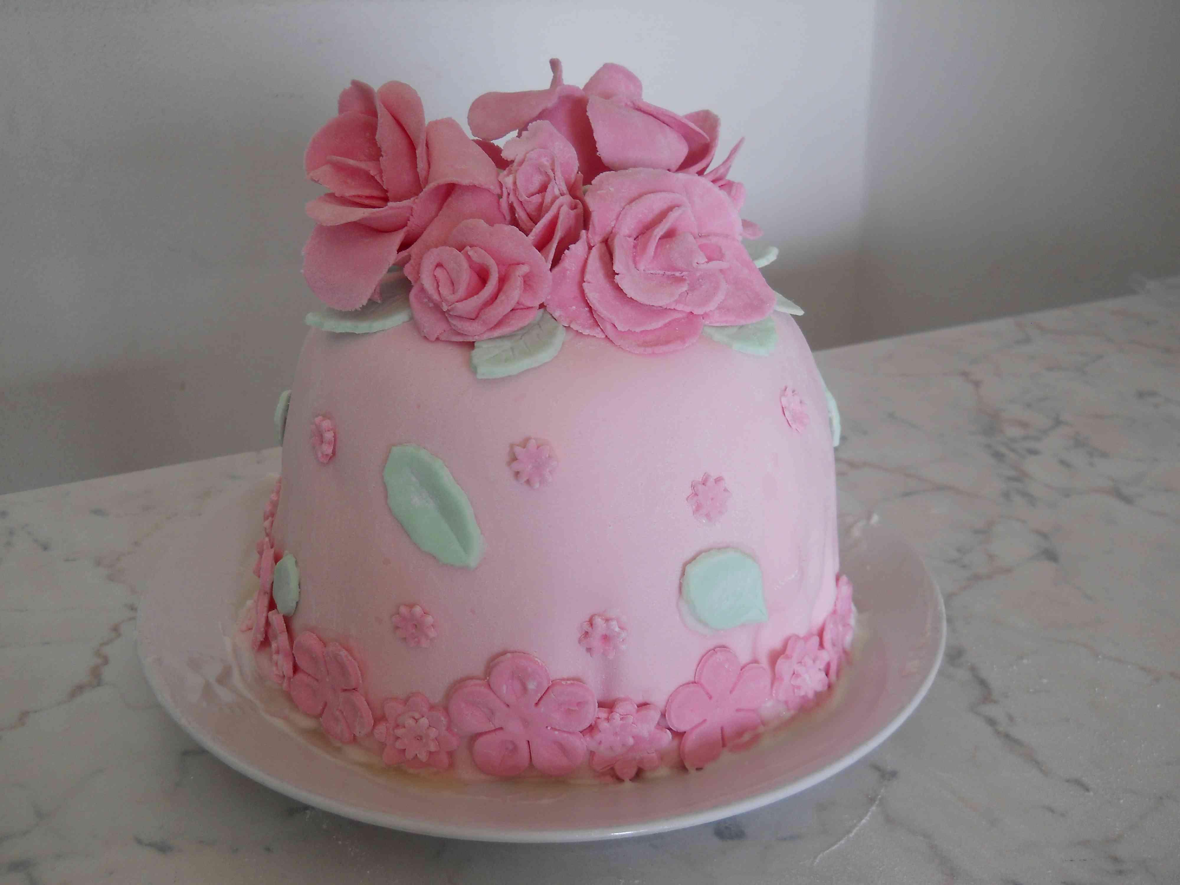 cake con rose bricolage & ricette