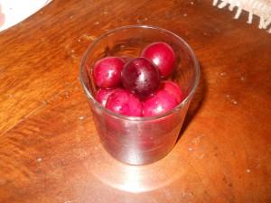 ciliegie cotte al vino