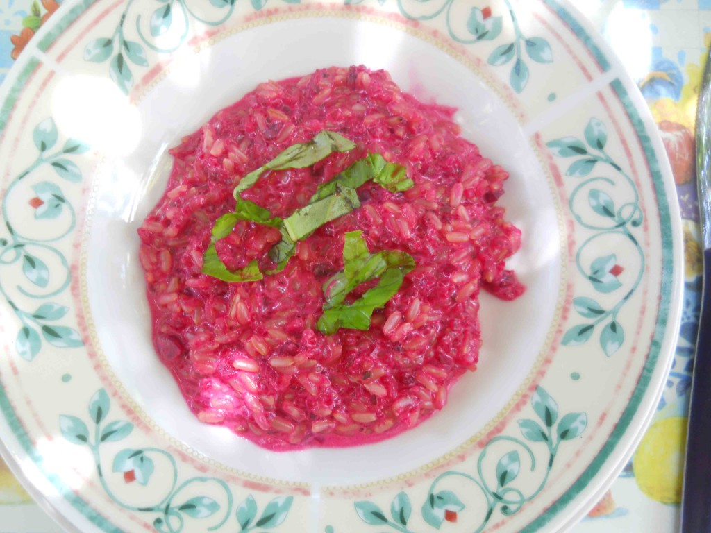 Ricette risotto alle barbabietole rosse bricolage ricette for Cucinare barbabietole
