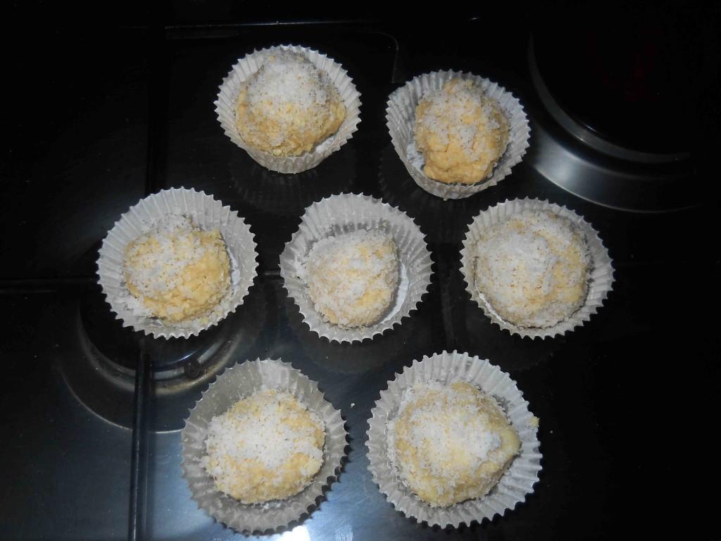 cioccolatini bianchi wafer e cocco