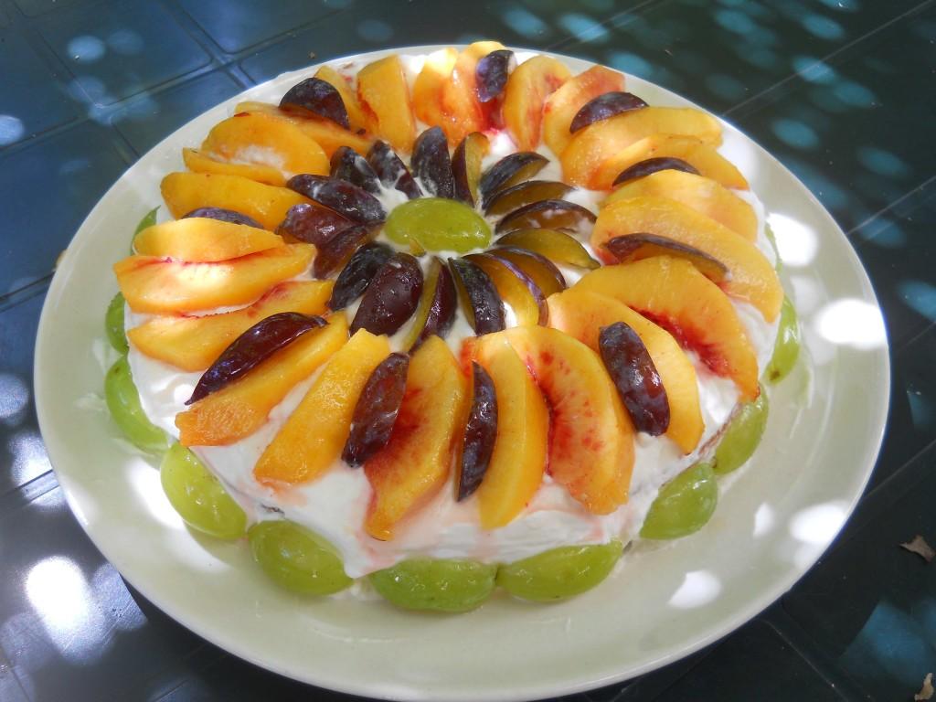 torta alla frutta di fine estate