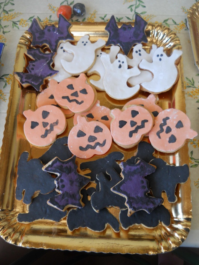Biscotti Cake Design Ricette : Cake design: biscotti di Halloween decorati bricolage ...