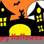 Happy Halloween casa stregata firmata