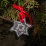stella natale materiale riciclato