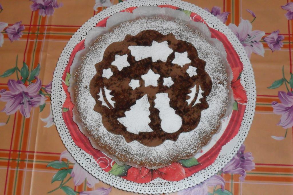 Torta Natalizia pupazzo neve