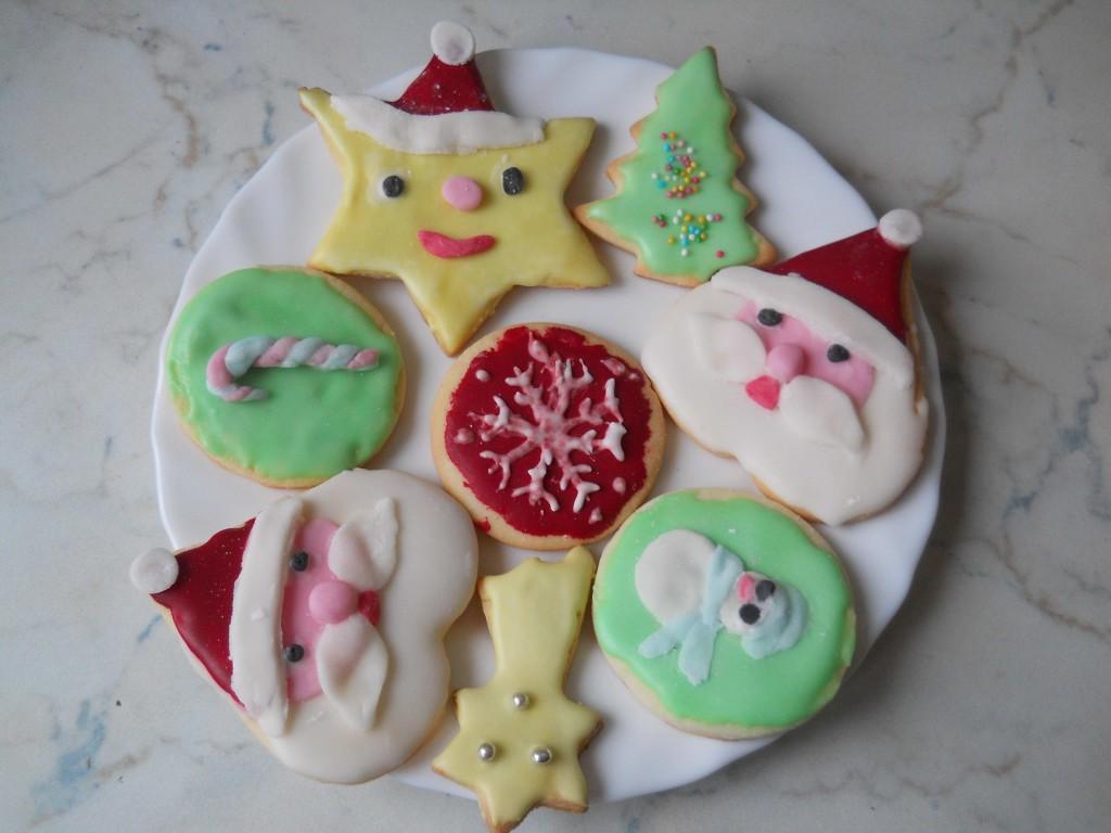 Biscotti Cake Design Ricette : Cake design: biscotti di Natale decorati bricolage & ricette