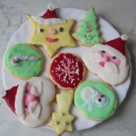 cake-design: biscotti natalizi