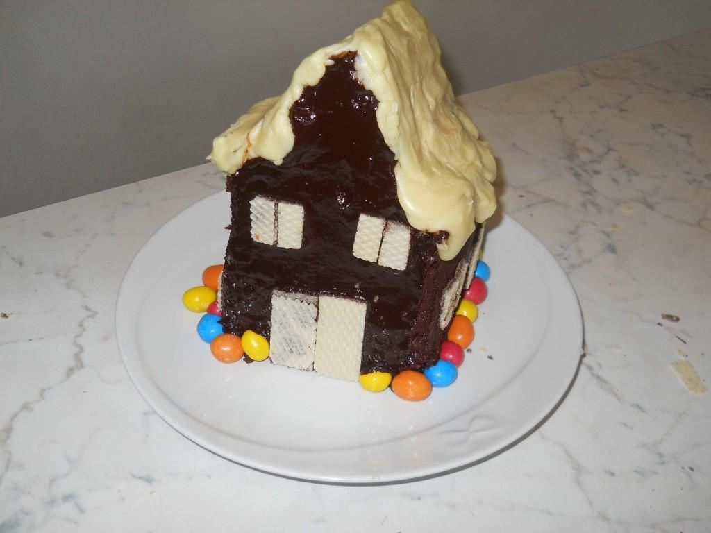 casetta di cioccolato