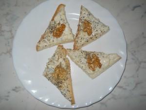 crostini crema di gorgonzola e noci