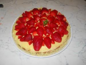 Bimby: torta crema e fragole
