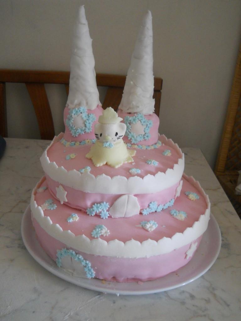 torta castello della principessa