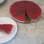 cheesecake al cocomero