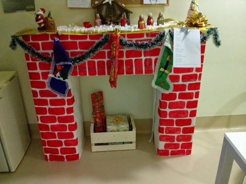 Caminetto finto bricolage ricette for Finto camino natalizio