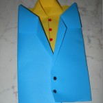 biglietto giacca e camicia