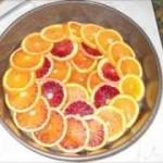 tarte tatin all'arancia