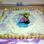 torta con frozen