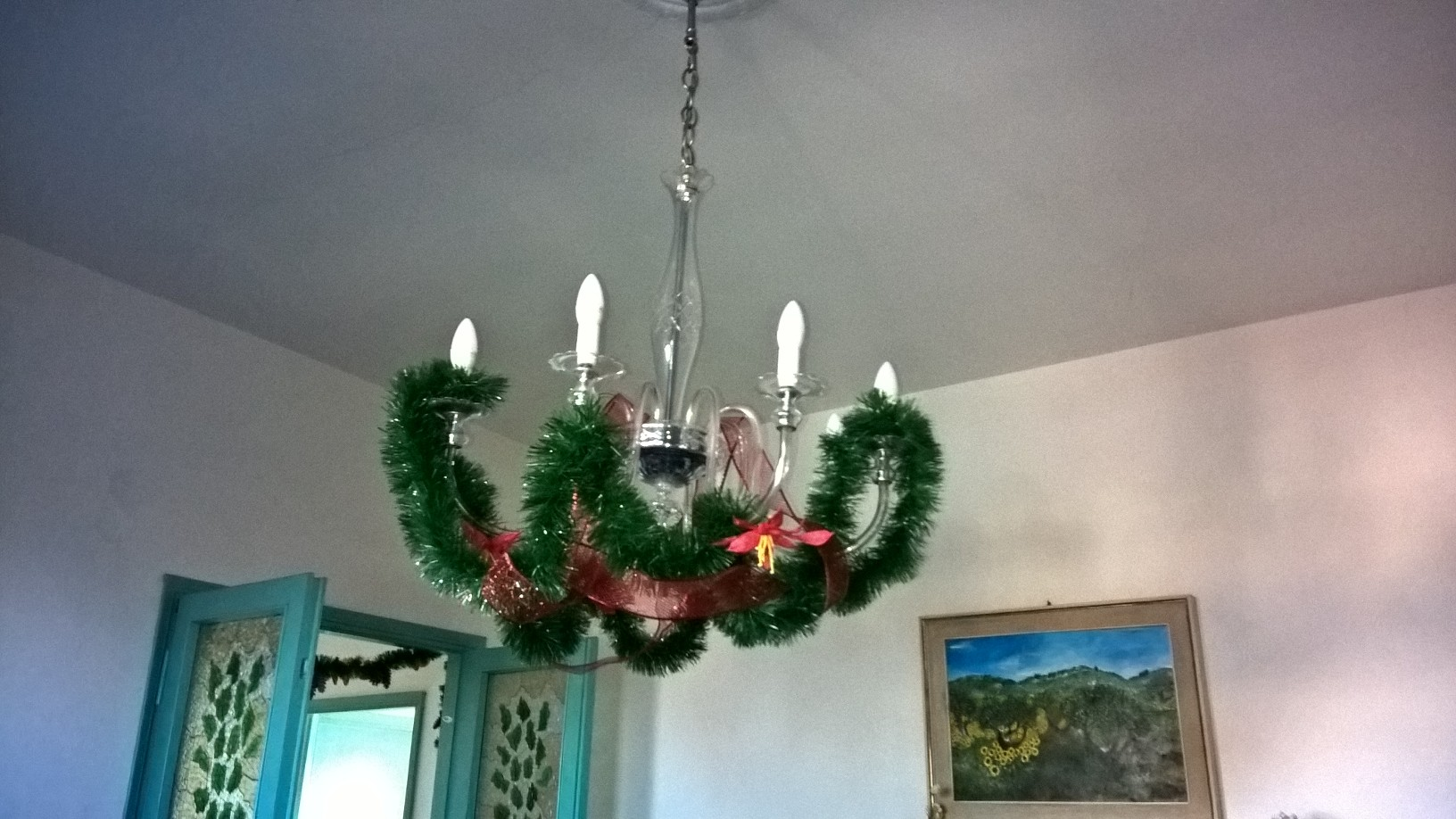 Decorazioni natalizie lampadari